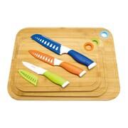 Culinary Edge 9 Piece Bamboo Cutting Board Set