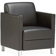 OCISitwell Tuxlite Arm Chair; Steel