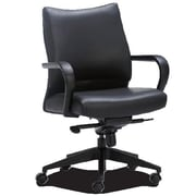 OCISitwell Profile Mid-Back Leather Executive Office Chair
