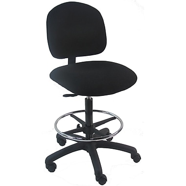 Bench Pro Tall Industrial Drafting Chair PolyUrethane Staples