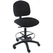 Bench Pro Mid-Back Tall Industrial Office Chair with Adjustable Footring; PolyUrethane with Control