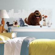 Room Mates Secret Life of Pets Peel and Stick Giant Wall Decal