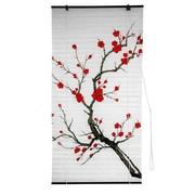 Oriental Furniture Blossom Shoji Rice Paper Roller Blind; 36'' W x 72'' L