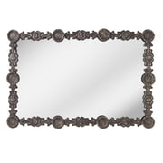 CBK Toscana Stamped Floral Wall Mirror