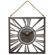 CBK Toscana Square Wall Clock with Rope Hanger