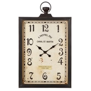 CBK Victory Rectangle Pocket Watch Wall Clock