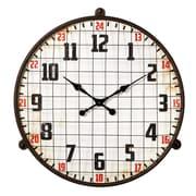 CBK Borough 30.5'' Caged Wall Clock