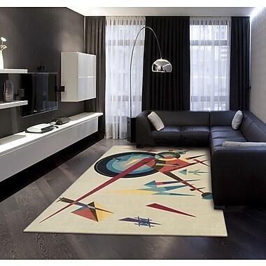 Nourison Modern Arts Balsa Rug; 4' x 6'