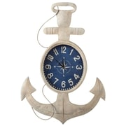 CBK Home Away Anchor Wall Clock