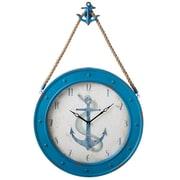 CBK Home Away 24'' Anchor Wall Clock