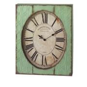 CBK Bloom Stamped Wall Clock