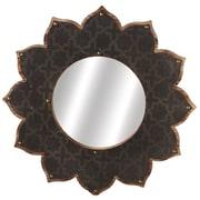 CBK Weekend Retreat Layered Galvanized Sunburst Wall Mirror
