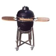 Kahuna Grills Charcoal Smoker & Grill; Black