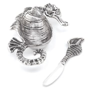 Star Home Dip Dish Sea Horse Condiment Server