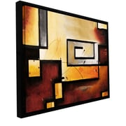 ArtWall 'Abstract Modern' by Jim Morana Floater Framed Painting Print; 14'' H x 18'' W x 2'' D