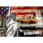 TAF DECOR Symbol of Freedom Broadway Edition Graphic Art on Canvas
