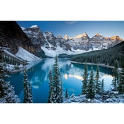 TAF DECOR Majestic Mountains Photographic Print on Canvas