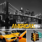 TAF DECOR American Life 1 Graphic Art on Canvas