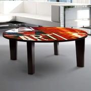 TAF DECOR Coffee Table; 13'' H x 35'' W x 35'' D