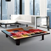 TAF DECOR Coffee Table; 7'' H x 44'' W x 44'' D
