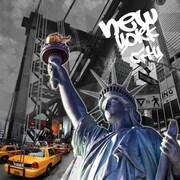 TAF DECOR Symbol of Freedom NYC Edition 2 Graphic Art on Canvas