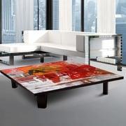 TAF DECOR Coffee Table; 7'' H x 35'' W x 35'' D