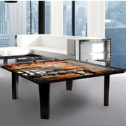 TAF DECOR Coffee Table; 13'' H x 44'' W x 44'' D