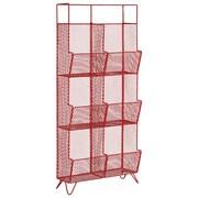 Urban Trends Floor Shelf; Red