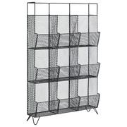 Urban Trends Floor Shelf; Dark Gray