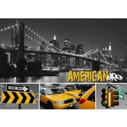 TAF DECOR American Life 2 Graphic Art on Canvas