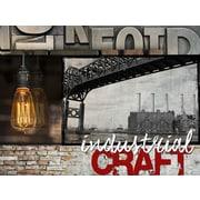 TAF DECOR Industrial Craft Graphic Art on Canvas