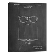 JaxsonRea ''Ray Ban Glasses'' by Cole Borders Wall Art on Wrapped Canvas; 40'' H x 30'' W x 1.5'' D