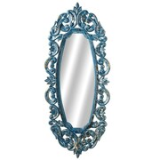 CBK Victory Ornate Carved Oval Wall Mirror