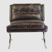 Design Tree Home Capetown Leather Occasional Chair