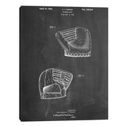 JaxsonRea ''B Glove'' by Cole Borders Wall Art on Wrapped Canvas; 40'' H x 30'' W x 1.5'' D