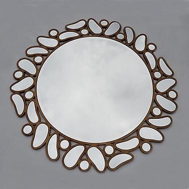 Winport Industries Round Drop Mirror