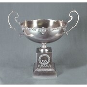 AA Importing Bowl with Handle; Silver