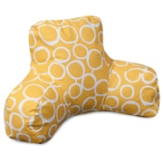 Majestic Home Goods Fusion Bed Rest Pillow; Yellow