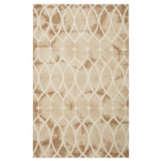 Ex-Cell Kaiser Coventry Hand-Woven Beige Area Rug; 5' x 8'