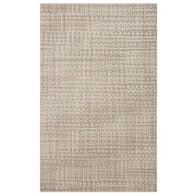 Ex-Cell Kaiser Harrow Hand-Woven Natural Area Rug; 8' x 10'