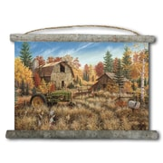 WGI GALLERY 'Deer Valley' Painting Print on White Canvas