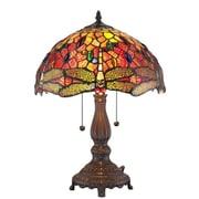 AmoraLighting Dragonfly 18.5'' Table Lamp