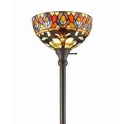AmoraLighting Peacock 72'' Torchiere Floor Lamp