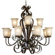 Y Decor Gianni 12 Light Candle Chandelier
