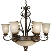 Y Decor Gianni 9 Light Candle Chandelier