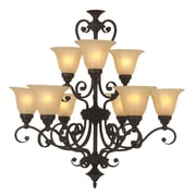Y Decor Lucerne 9 Light Candle Chandelier