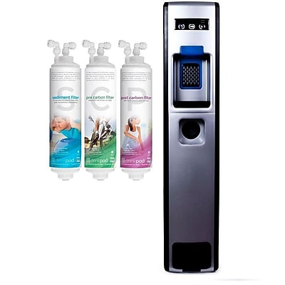 Decor Coolers 503 Series Bottleless Free-Standing Hot and Cold Water Cooler WYF078277116512