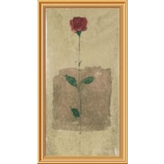 Global Gallery 'American Beauty' Framed Painting Print; 40'' H x 22'' W x 1.5'' D