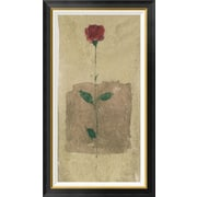 Global Gallery 'American Beauty' Framed Painting Print; 42'' H x 24'' W x 1.5'' D