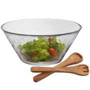Woodard & Charles Salad Bowl with Wood Servers